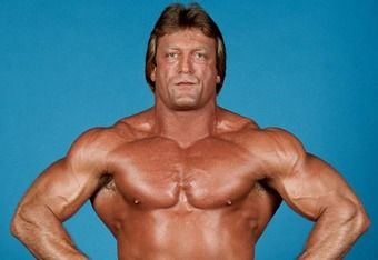 Paul Orndorff signed autograph shirtless