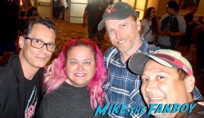 ricky pinky courtney gaines keith coogan selfie meeting fans
