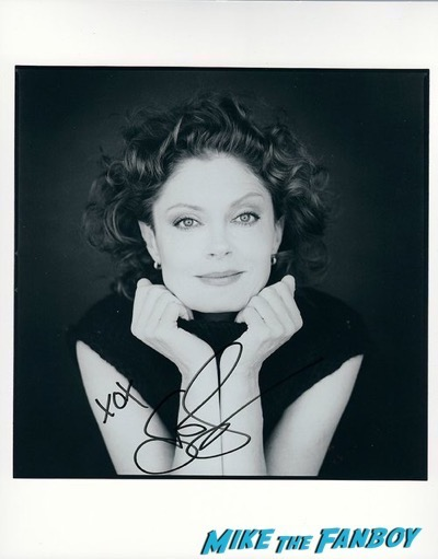 Susan Sarandon signed autograph photo TTM PSA
