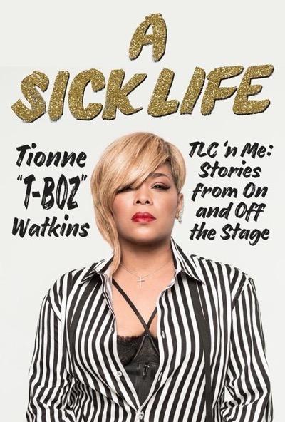 sick life tionne t-boz watkins signed book