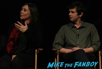 Bates Motel FYC Meeting Freddie Highmore Vera Farmiga 6