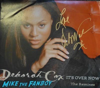 Deborah Cox signed autograph lp album psa rare