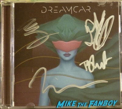 Dreamcar signed autograph CD