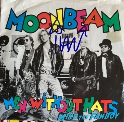 men without hats signed ivan