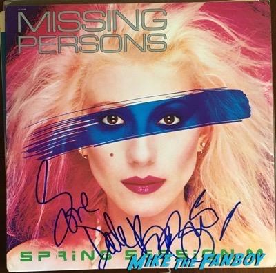 Animotion signed autograph lp