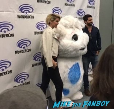 Imaginary Mary Wondercon press interview 4