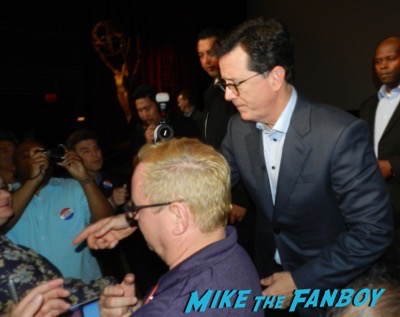 Late show with Stephen Colbert FYC Event Meeting fans 2