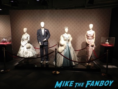 The Crown prop costume display netflix fyc space