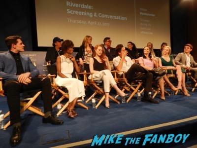 Riverdale paley center panel kj apa signing autographs 6