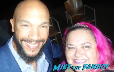 Stephen Bishop meeting fans imposters FYC panel