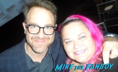 Paul Adelstein meeting fans imposters FYC panel