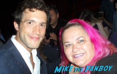 Rob Heaps meeting fans imposters FYC panel