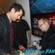 Richard Dreyfuss meeting fans signing autographs