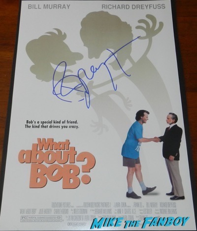 Richard Dreyfuss signed autograph what about bob poster psa
