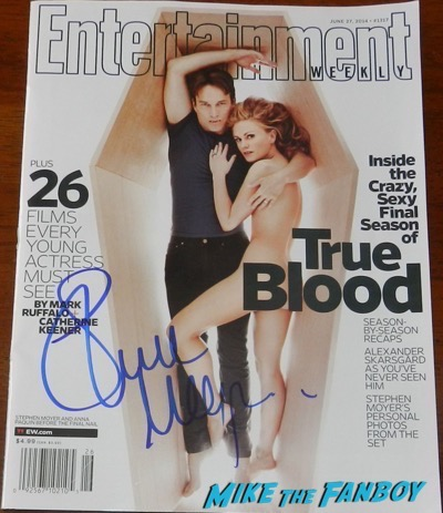 stephen moyer signed true blood entertainment weekly