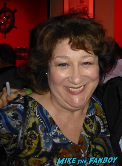 Margo Martindale meeting fans