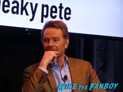 Sneaky Pete FYC Panel Bryan Cranston meeting fans 8