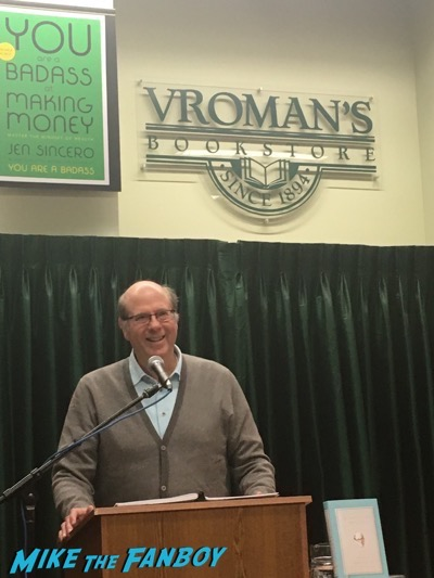 Stephen Tobolowsky book signing meeting fans vroman's pasadena 3Stephen Tobolowsky book signing meeting fans vroman's pasadena 3