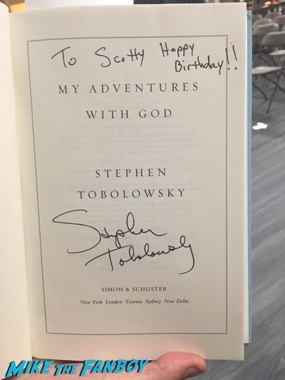 Stephen Tobolowsky book signing meeting fans vroman's pasadena 3