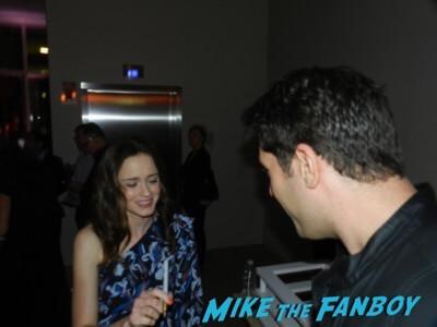 Alexis Bledel meeting fans The Handmaid's Tale FYC q and a meeting elisabeth moss alexis bledel 33