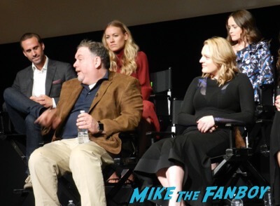 The Handmaid's Tale FYC q and a meeting elisabeth moss alexis bledel 1