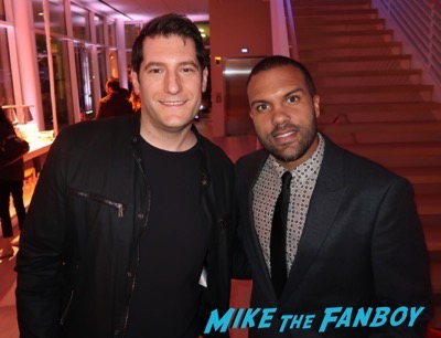 O-T Fagbenle meeting fans The Handmaid's Tale FYC q and a meeting elisabeth moss alexis bledel 33