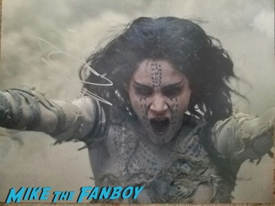 Sofia Boutella signed autograph the mummy photo