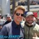 Tom Cruise meeting fans signing autographs