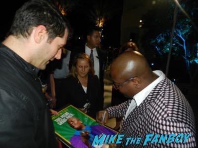 Tituss Burgess Meeting fans signing autographs kimmy schmidt fyc