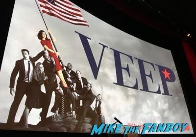 VEEP FYC Panel 2017 Julia Louis-Dreyfus meeting fans 26