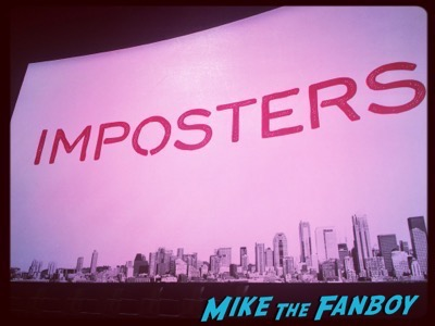 imposters FYC Panel meeting the cast