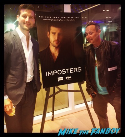 Parker Young meeting fans imposters FYC panel