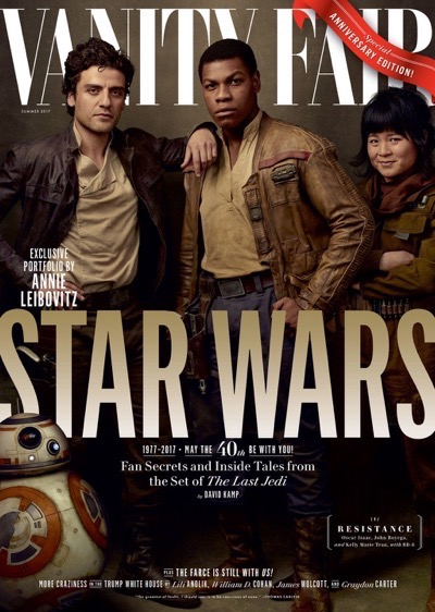 Star Wars: The Last Jedi Vanity Fair cover Oscar Isaac