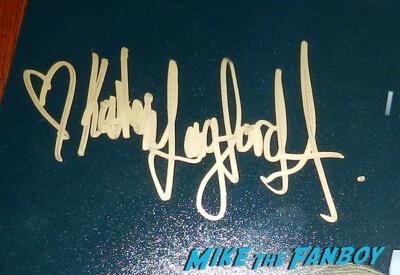 katherine langford signed autograph psa