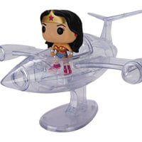 Wonder Woman with Invisible Jet