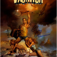 chevy chase signed autograph vacation poster chevy chase signed autograph vacation poster