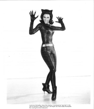 Lee Meriwether Signed autograph catwoman