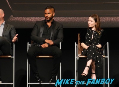 American Gods FYC Panel Ricky Whittle Meeting Fans 1