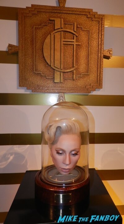 lady gaga glove American horror Story prop costume exhibition 8