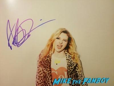 abigail breslin signed autograph photo psa