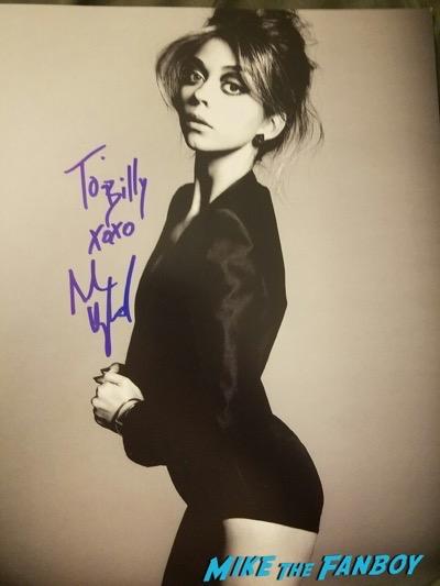 sarah hyland signed autograph photo psa