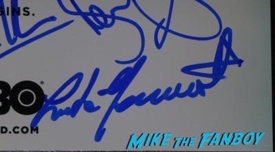 Luke Hemsworth Signed Autograph westworld poster rare PSA
