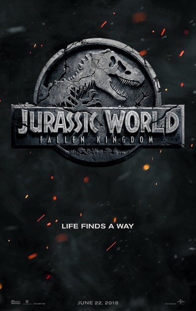 Jurassic World Fallen Kingdom teaser poster one sheet 1
