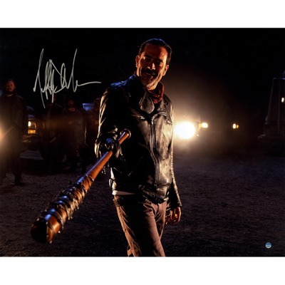 jeffrey dean morgan signed autograph poster neegan