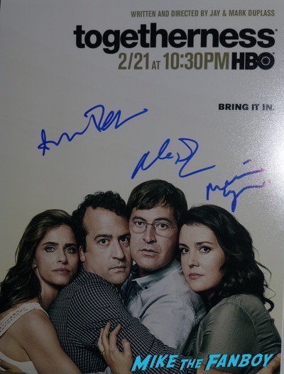 Melanie Lynskey signed autograph togetherness poster psa
