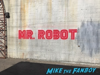 Mr. Robot FYC Q and a Rami Malek meeting fans signing autographs 1