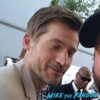 Nikolaj Coster-Waldau meeting fans photo flop signing autographs 3