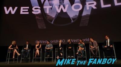 Westworld FYC Panel meeting Evan Rachel Wood 1