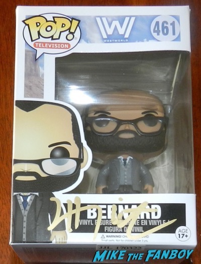Jeffrey Wright signed funko pop vinyl PSA westworld