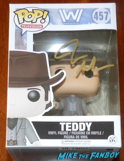 James Marsden signed funko pop vinyl PSA westworld